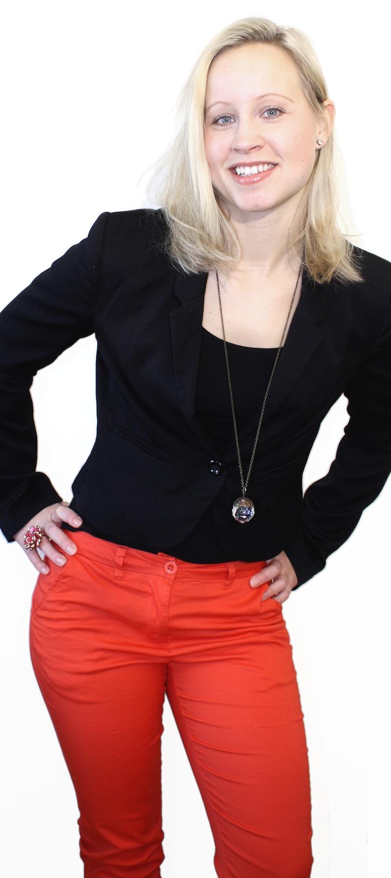 Onlinemarknadsförare Emelie Ockenström Norberg