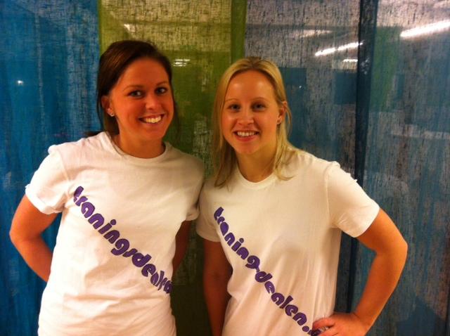 Emma och Emelie- Träningsdealen T-shirts