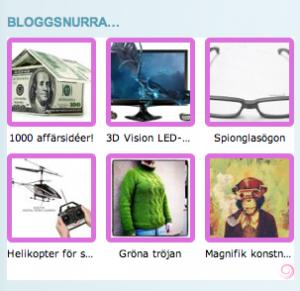 Widget-bloggsnurra