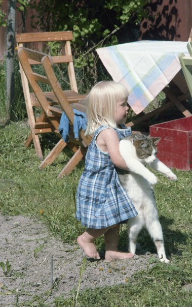 """Jag och katten """"Ullegulle"""""""