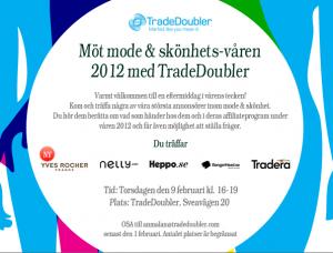 Event TradeDoubler