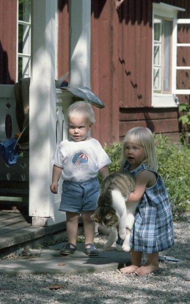 Mini hobbiten Niklas och jag