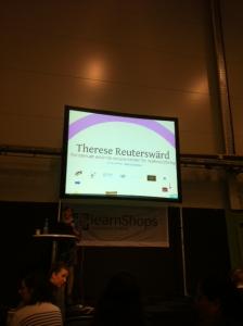 Föreläsning med Therese Reuterswärd