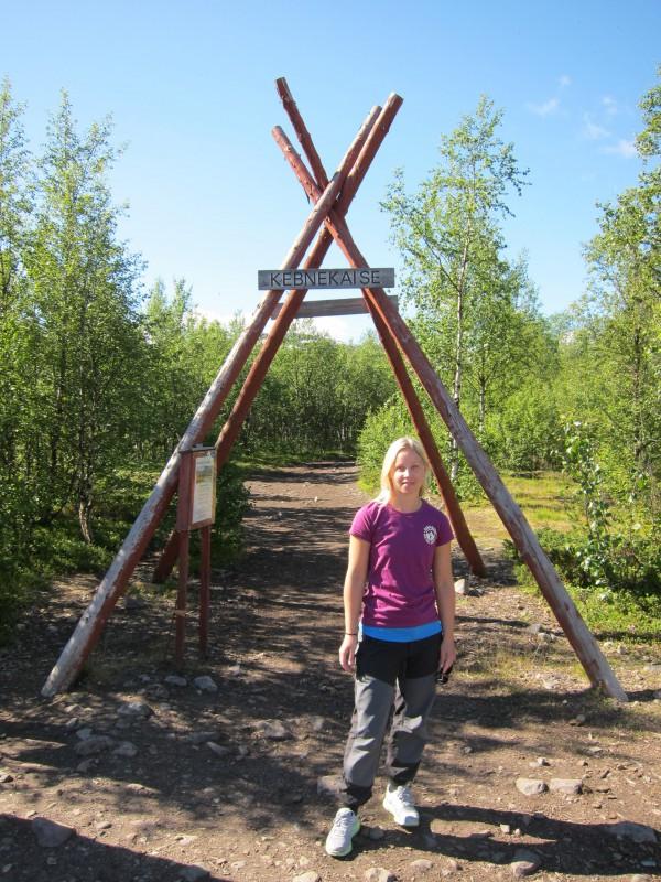 Porten till Kebnekaisefjällen, nere vid Nikkaloukta