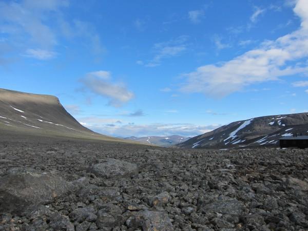 Utsikt över Tarfaladalen