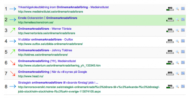 onlinemarknadsförare-placering på google