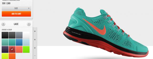Nike Lunarlon-designade