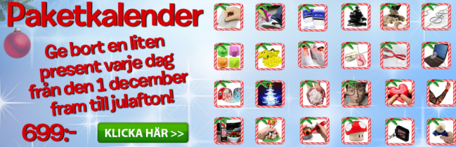 Cool stuff-julkalender
