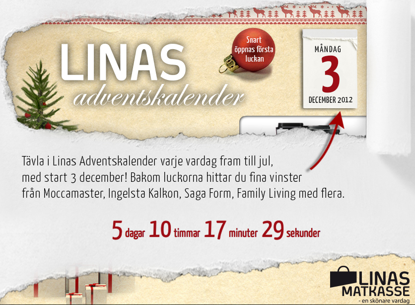 Linas matkasse - adventskalender