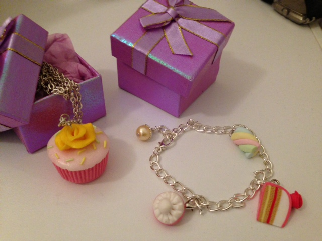 Cupcake halsband-Godis armband