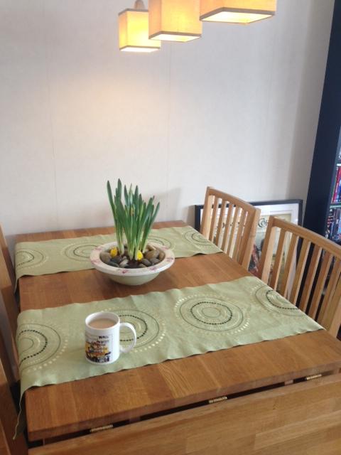 Påskfint på bordet