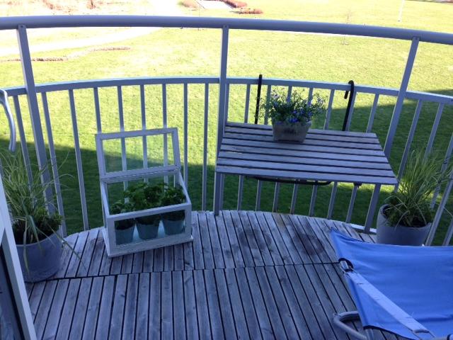 Min fina balkong