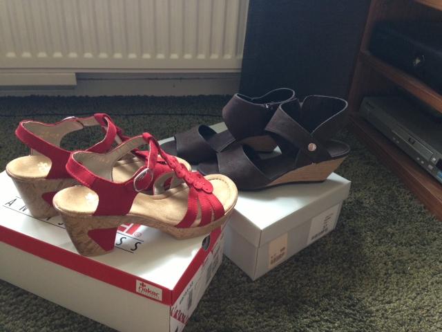 Rieker - och Dasia skor