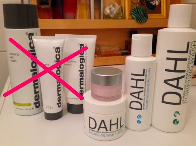 Dermalogica och Dahlprodukter