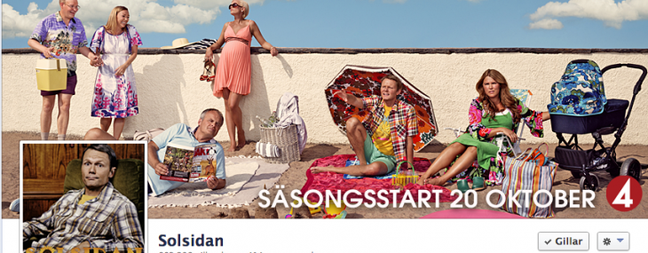 Solsidan facebook page