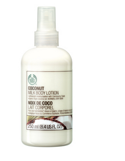 coconut milk body lotion