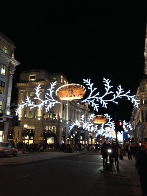 Julfint i London