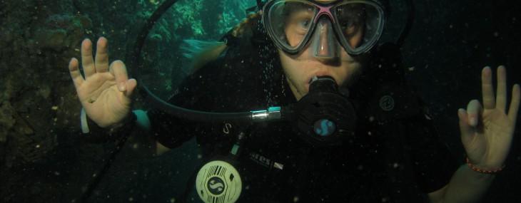 Längtar efter dykning