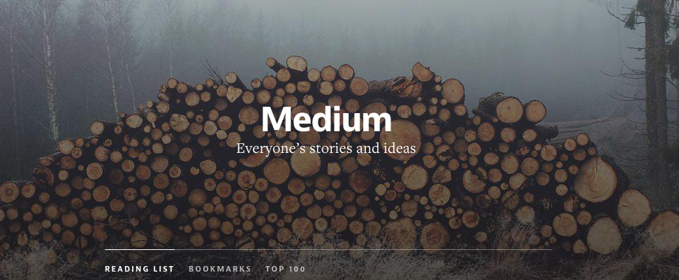 Medium-everyone´s stories and ideas