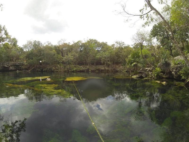 Cenote i Mexico