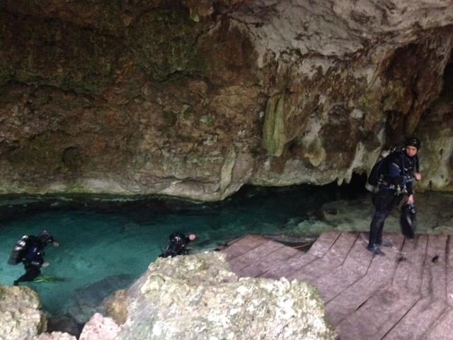 Grottdykning Mexico