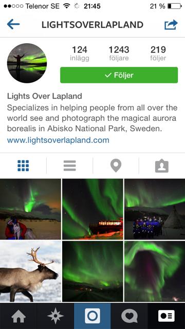 Lightsoverlapland