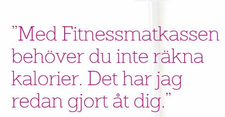 Fitnessmatkassen