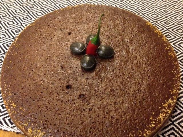 Kladdkaka med Chili och Turkisk peppar