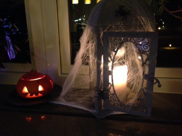 Halloween fint hemma