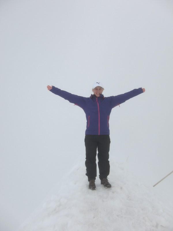 På Sveriges högsta topp, Kebnekaises sydtopp