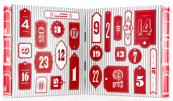The Body Shop Adventskalender 2014