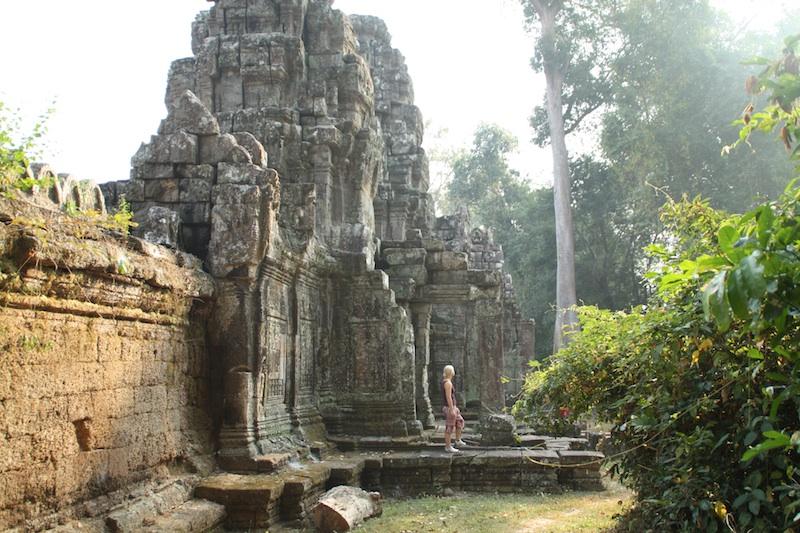 Tempel i Kambodja